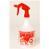 Miller Mfg CO PS32RED 32OZ Plas Spray Bottle
