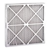 Air Handler 2EKH3 Antimicrobial Treated Pleat, 29x25x4 In., Pack of 3