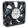 Ebm 4412FNH Axial Fan, 12VDC, 4-11/16In H, 4-11/16In W