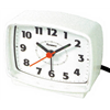 Geneva/Advance Clock Co 2049AT WHT Elec Alarm Clock