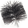 "Imperial Mfg Group Usa Inc BR0181 6"" RND Poly Chim Brush"