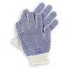 North By Honeywell K511MZJ Knit Glove, L, White/Blue, PR