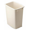 Rubbermaid 2805-00BISQ 21QT Bisque Wastebasket