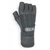 Valeo GLAW Anti-Vibration Glove, 2XL, Blk, Half Finger