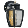 "Westinghouse Lighting Corp 66961 6"" BLK Wall Lantern"