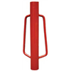 Midwest Air Tech/Import 901147A RED Fence Post Driver