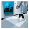 Wearwell 095.3x5WH Clean Room Mat, Dry Area, 3 x 5 Ft., PK 4