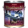 True Value Mfg Company HPX17-GL WA GAL BRN FLT Paint, Pack of 4