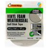 Thermwell V443H 3/8x3/16 GRY Foam Tape