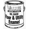 True Value Mfg Company VE4-GL VAL GAL RED FLR Enamel, Pack of 2