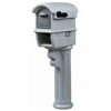 Step 2 Corp 5A1200 DLX GRY Mailbox/Post