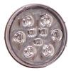 Maxxima M42347 Back Up Light, 9 LED, 4 In, Round, White