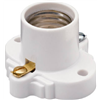 Pass & Seymour S752WCC10 WHT MED Cleat Socket