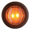 Optronics MCL-11AKBPG Marker/Clearance Lamp, LED, Amber