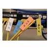 Unitag 2BUNITAG Cable Identification Tag, 2in, Blue, PK 50