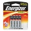 Energizer E92BP-4 Battery, AAA, Alkaline, PK 4
