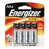 Energizer E91BP-4 Battery, AA, Alkaline, PK 4