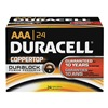 Duracell MN2400BKD Battery, Alkaline, AAA, PK 24