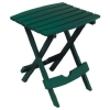 Adams Mfg Co 8500-16-3731 Hunter Green Fold Side Table