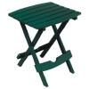 Adams Mfg Co 8500-16-3731 Hunter Green Fold Side Table