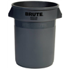 Rubbermaid Comm Prod 2632-00-GRAY 32 GAL GRY Trash Can