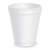 Dart 8J8 Cold/Hot Cups, 8 Oz, White, Pk1000