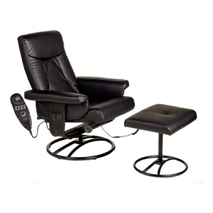 COMFORT PRODUCTS Massage Recliner w/Heat, Black at Sears.com