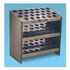 Huot 23880 Tool Holder, 3 Shelf, Steel, HSK 100A, 78 Pc