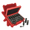 Milwaukee 49-66-4484 Drive Deep Well Set, 1/2 In, 9 Pc