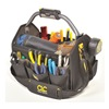 Clc L234 Tool Bag, Open Top, 15 x9 x12 In, Black, LED