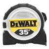 Dewalt DWHT33387L Measuring Tape, 1/4 In x 35 ft, Ylw/Blk