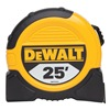 Dewalt DWHT33373L Measuring Tape, 1-1/8 In x 25 ft, Ylw/Blk