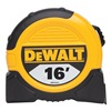 Dewalt DWHT33372L Measuring Tape, 1-1/8 In x 16 ft, Ylw/Blk