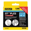 Stanley TRA705TCS Narrow Staple, 27/64, 5/16 In Leg, Pk 1500