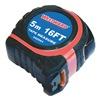 Westward 24Z091 Measuring Tape, 16 Ft, ABS, In/Ft/mm.