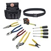 Klein Tools 92003 Electrician Tool Set, 12 Pc
