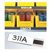 Approved Vendor L11 BOX OF 1 Label Holder, Self-Adhesive, 1 In. x 6 In.