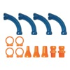 Loc-Line 50872 Extended Elbow Kit, 1/2In