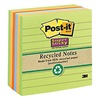 Post-IT 675-6SSNRP Super Sticky Notes, 4x4 In., Assorted, Pk6