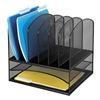 Safco 3255BL Letter Tray/File Holder, 8, Comp