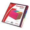 Pendaflex ESS40142 Index Tab Set, Asst, Polypropylene, PK 25