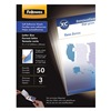 Fellowes 5221502 Laminating Pouch, 3 mil, PK 50