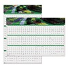 House Of Doolittle HOD394 Wall Calendar, Reverse/Erase, 24x37 In.