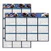 House Of Doolittle HOD3969 Wall Calendar, Reverse/Erase, 24x37 In.