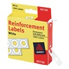 Avery AVE05720 Hole Reinforcement, Roll, White, PK 1000
