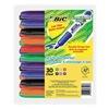 Bic BICGDEM30ASST Dry Erase Marker, Chisel, Assorted, Pk 30