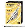 Bic BICGSM609BK Ballpoint Pen, Med, Black, Pk 60