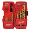 Milwaukee 48-89-0011 Drill Bit Sets, Titanium, 14 Pc