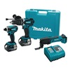 Makita LXT218/LXMT02Z Cordless Combo Kit W Osc Tool, 18 V