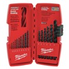 Milwaukee 48-89-2803 Drill Bit Sets, Blk Oxide, 15 Pc
